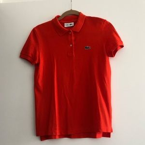 Lacoste for J.Crew Polo Size 36